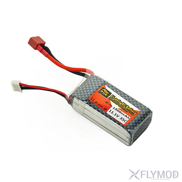 Аккумулятор ZOP Power 11 1V 1500mAh 35C LiPo