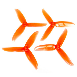 Пропеллеры DALPROP CYCLONE T5045C CW/CCW. 2 пары. [Crystal Orange]