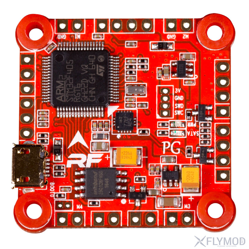 Контроллер полета RaceFlight Revolt flight Controller F4 32KHz