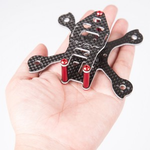iFlight Racer iX2 Tiny moulding composite material fpv racing frame kit Композитная рама 90мм