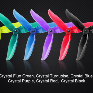 Пропеллеры dalprop cyclone t5046c propellers props 5046  tri-blade v2 3 лопасти pro