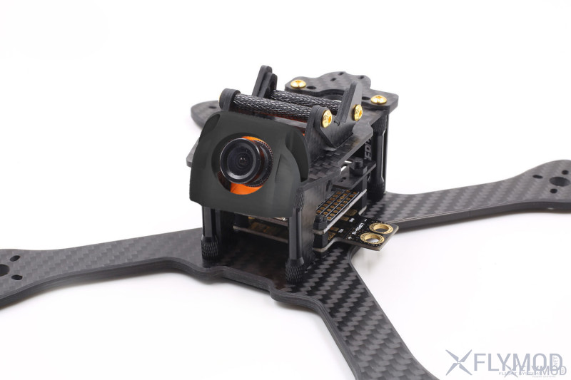 Защита fpv камеры для рамы geprc chimp camera cover protection 3d print abs 3д пластик эластан