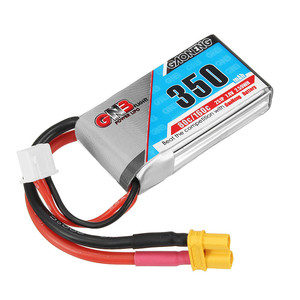 Аккумулятор gaoneng 350mah 2s 7 4v 80c accum battery банка lipo мини fpv gnb xt30