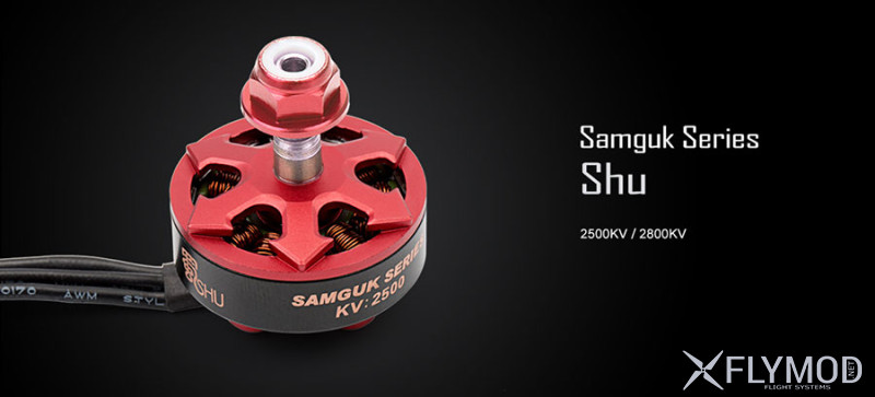 Бесколлекторные моторы dys samguk shu 2306 2500kv brushless motor engine дис fpv drone