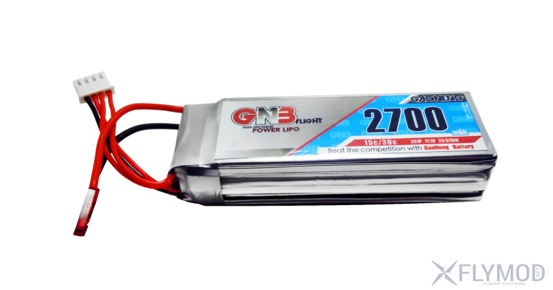gnb 2700mah 2s 7 4v 15c high energy receiver remote control gaoneng model lithium battery Аккумулятор для аппаратуры