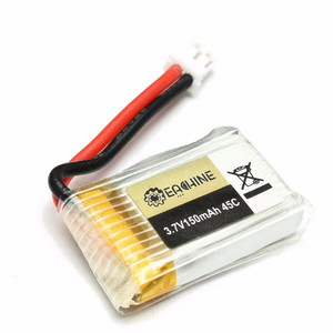 Eachine E010 E010C RC Quadcopter Spare Parts 3 7V 150MAH 45C Upgrade Battery Мини аккумулятор h36 jjrc
