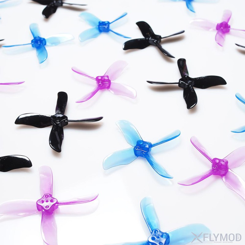 4-Blade DALPROP CYCLONE Q2035C Props For FPV Racing пропеллер винт лопасть далпроп фпв гонка циклон propeller