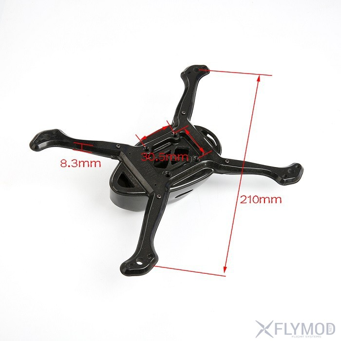 Beetle V3 210mm wheelbase one full carbon frame black FPV freestyle fpv рама карбон жук iflight айфлайт