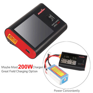 ultra power up610 200w pocket smart charger for rc lipo lihv liion life nimh nicd pb Зарядное устройство discharger