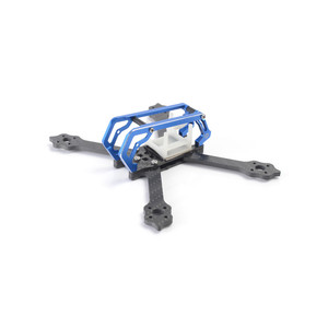 Карбоновая рама diatone 2018gt-m3 normal x nx frame kit 2018 rc drone 130мм 130mm titanium blue green