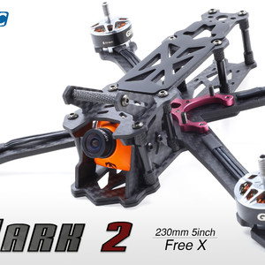 Карбоновая рама geprc gep-mark2 230мм mark2 freestyle фристайл 230mm fpv rc drone frame kit arm