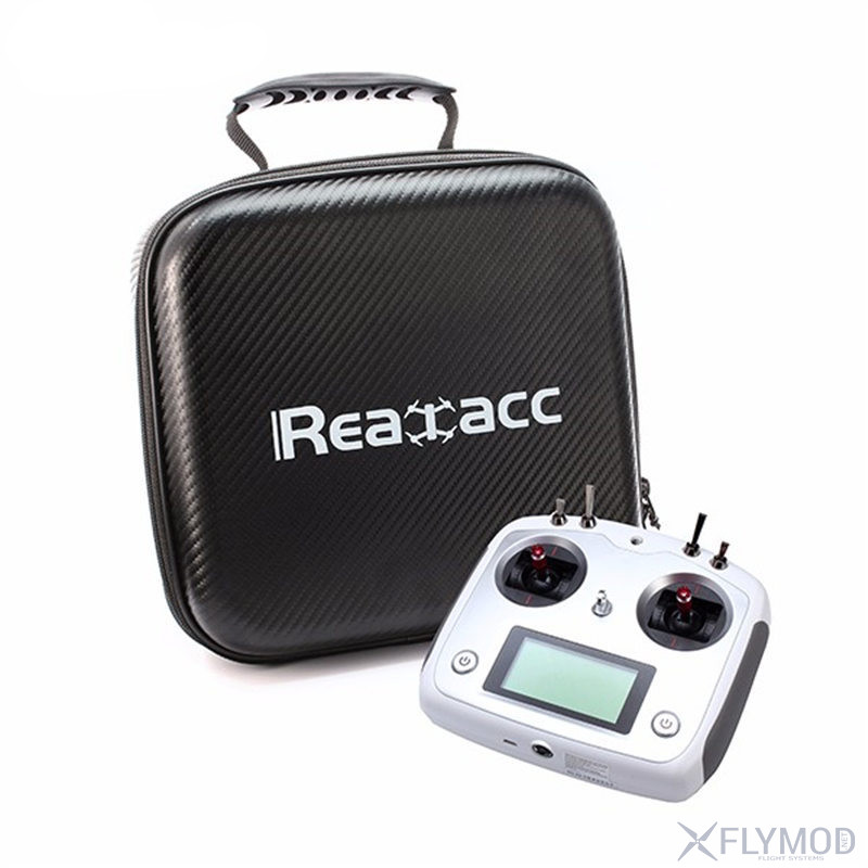 realacc handbag backpack bag case for flysky is-6 transmitter сумка кейс чемодан чехол реалак аппаратура радиоаппаратура