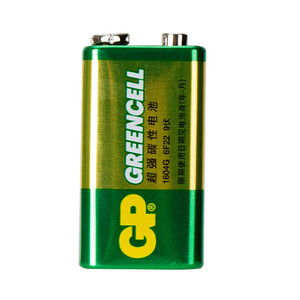 Батарейка крона GP Greencell 9V солевая