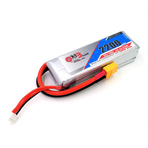 Аккумулятор gnb 2200mah 3s 11 1v 80c high energy gnb battery pass through machine s500 450 helicopter gaoneng
