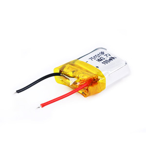 Мини аккумулятор Li-Po 100mAh 3.7V для Eachine E10, Cheerson CX-10A [Под пайку]