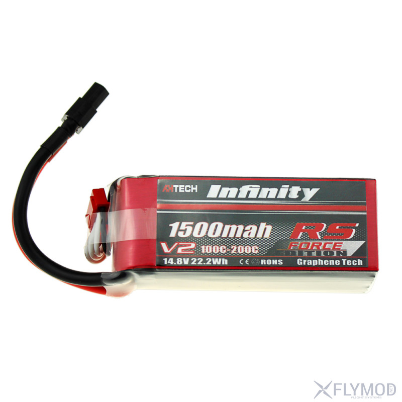infinity graphene technology lithium battery  1500mah 4s1p 14 8v force v2 new