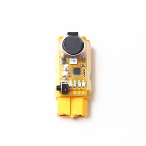 xt60 voltage detection plug voltage alarm vehicle model fixed wing bb ring built-in Сигнализатор низкого напряжения переходник XT60 для 2-6S LiPo