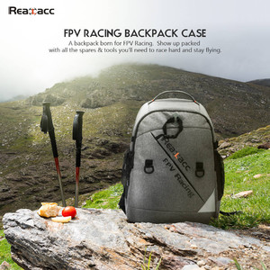 realacc backpack case with waterproof transmitter beam port bag for rc drone fpv racing Рюкзак многофункциональный realacc ранец сумка чехол кейс