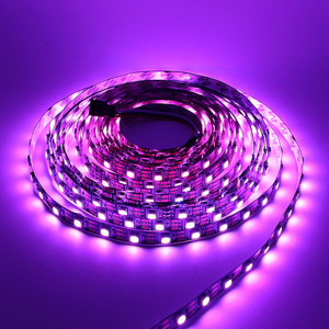 rgb светодиодная лента ws2812b magic color led lights with 5v  5050 lamp beads built-in ic colorful programming soft light strip