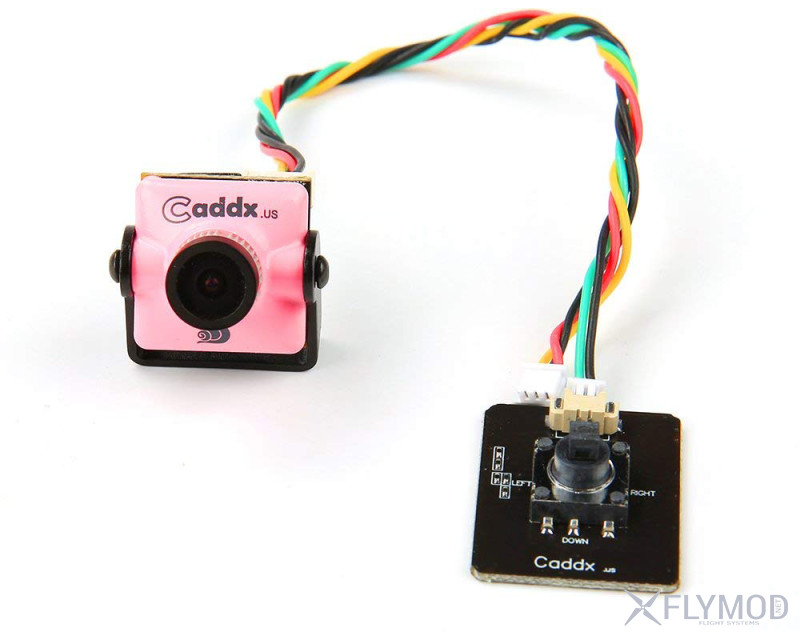 Камера для fpv caddx turbo s1 s2 micro 600tvl 1 3  ccd 4 3 pal