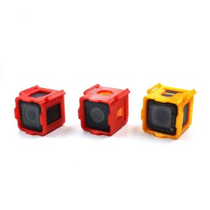 geprc 3d printed camera protective case for gopro session sport mount for rc racing drone Защитный tpu корпус geprc для экшн камер типа runcam5