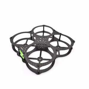 Карбоновая рама realacc mm130-o 130мм wheelbase carbon fiber frame kit for fpv racing