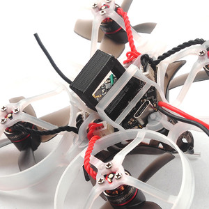 Мини квадрокоптер с fpv happymodel mobula 7 готовый к полету ready to fly drone micro copter race микро дрон тинивуп tiny whoop