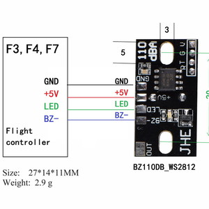 alarm buzzer highlight led  light ws2812b 110 decibels модуль пищалка 110db буззер bz110db