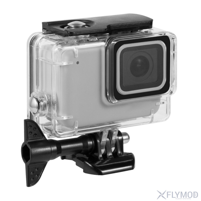 telesin screen waterproof housing case protector shell gopro underwater 45m Водонепроницаемый бокс для экшн камер 5 6 7