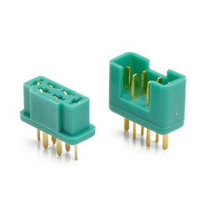Разъем mpx connector male female пара 24k коннектор 6-pin 6pin