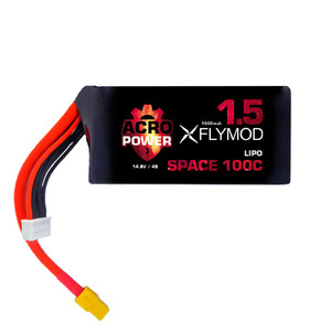 Аккумуляторы Acro Power SPACE Flymod 1500mAh 4S 14 8V 100C battery ukraine