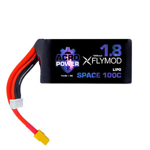 Аккумуляторы acro power space flymod 1800mah 4s 14 8v 100c battery