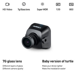 Камера для fpv caddx baby turtle 1080p 60fps 800tvl ntsc pal 16 9 4 3 fov 170 degree 1 8mm 7g glass lens super wdr hd
