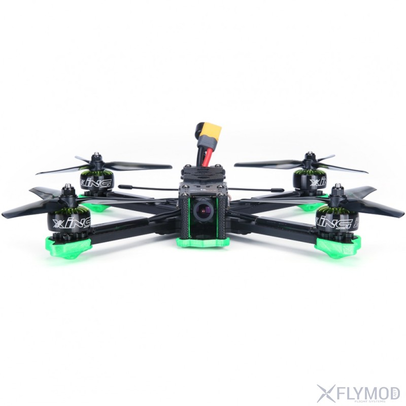 Гоночный fpv квадрокоптер iflight titan xl5 analog 250мм 4s 6s pnp rtf readytofly дрон